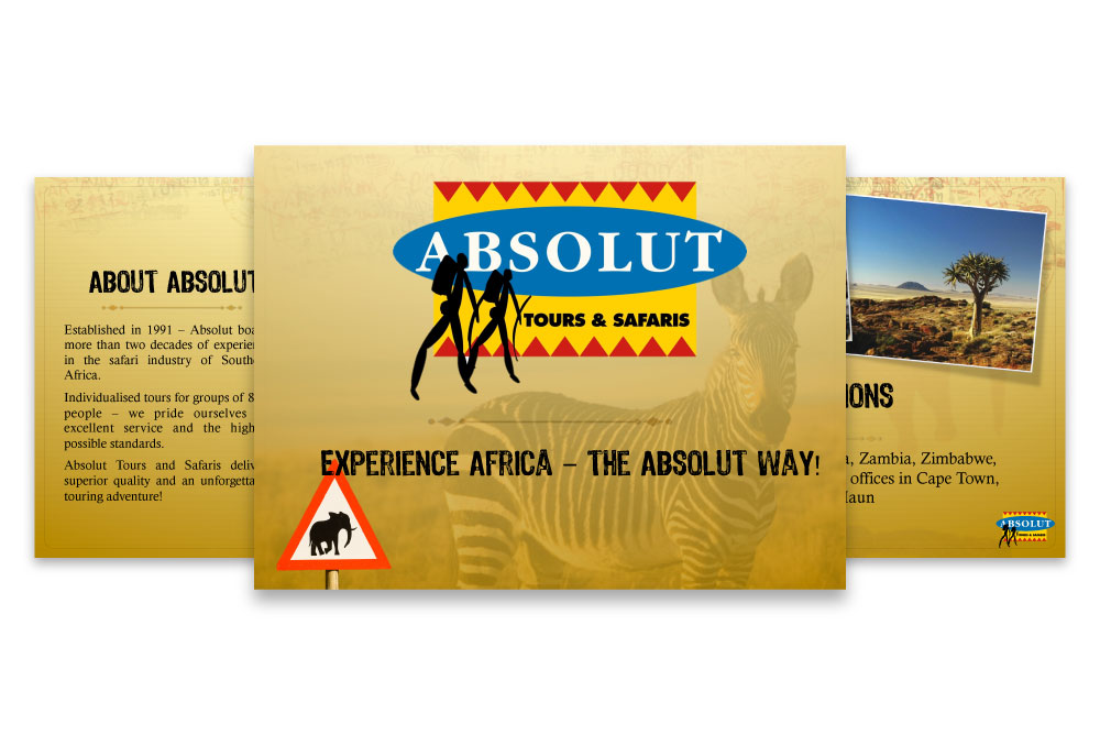 Absolut Tours & Safaris Powerpoint