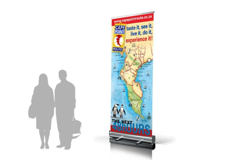 Cape Point Route rollup banner
