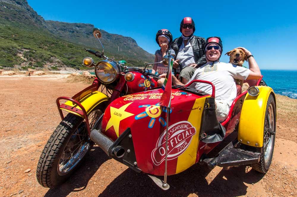 Cape Sidecar Adventures promo shoot