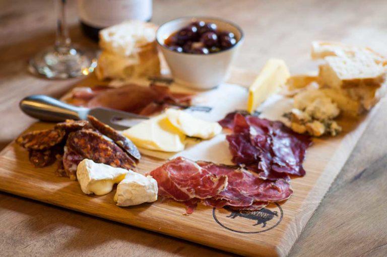 Wine and Swine platter