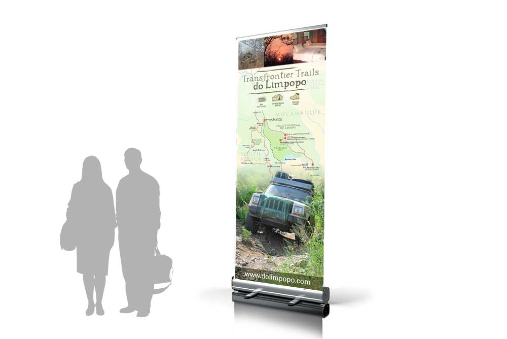 Transfrontier Trails rollup banner