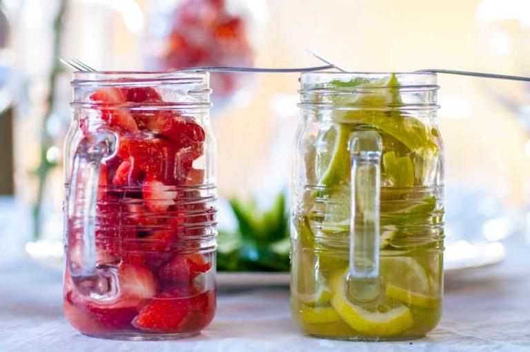 Noordhoek Cafe & Deli - strawberries & lime