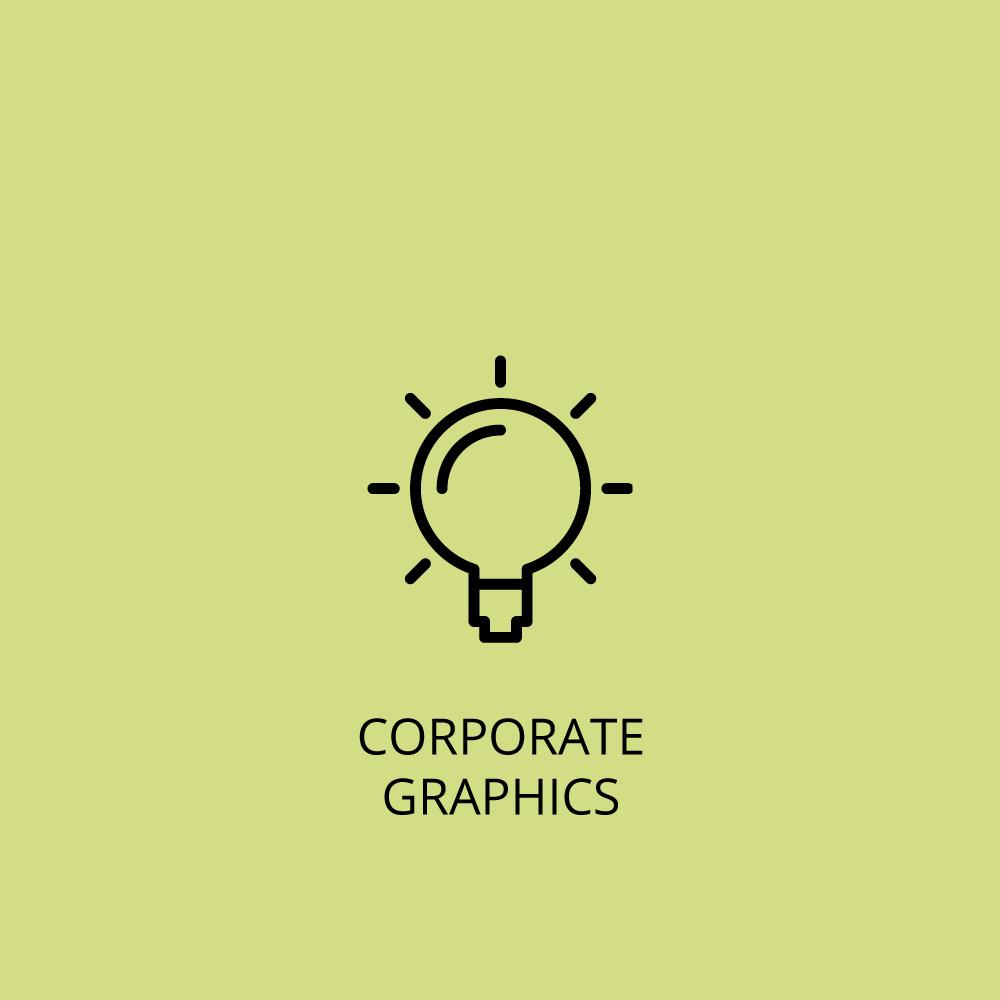Corporate graphics icon