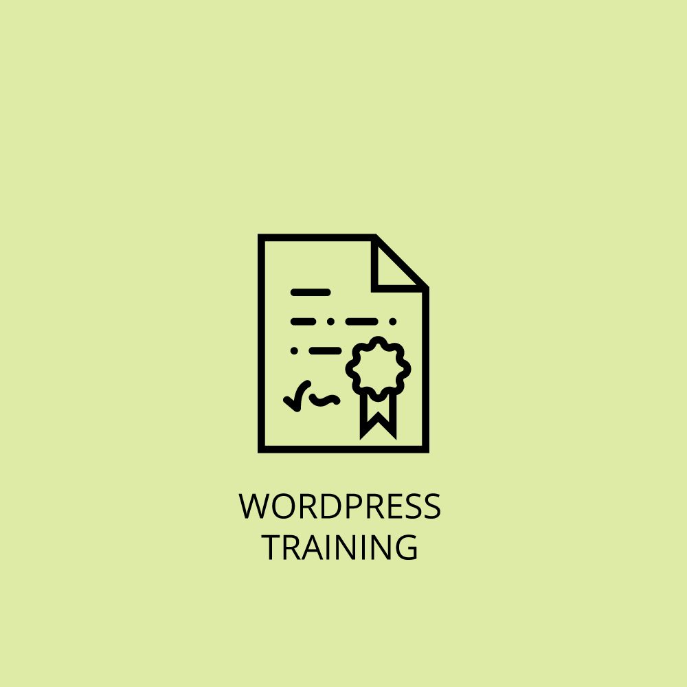 Wordpress training icon