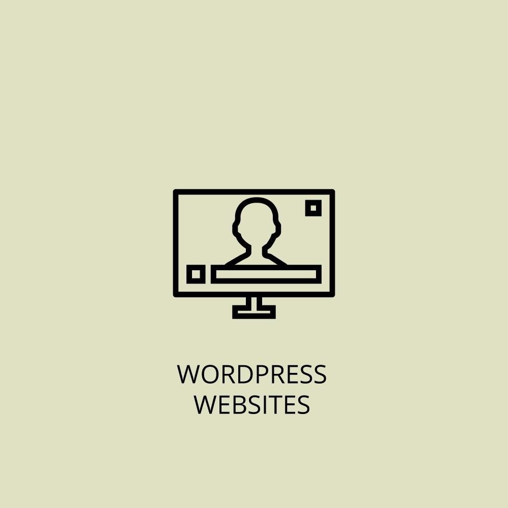 Wordpress websites icon