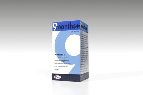 9 Months Plus 30 capsules