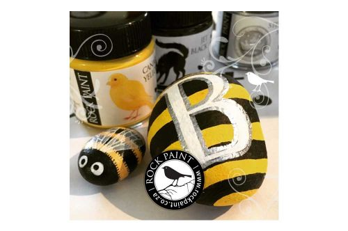 Rockpaint Facebook Busy Bee Online Workshop ad
