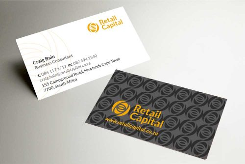 Retail Capital business card