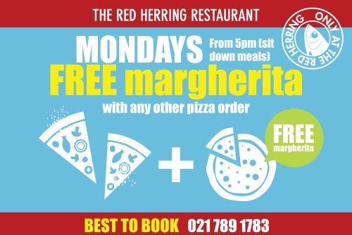The Red Herring Monday winter specials