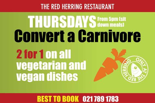 The Red Herring Thursday winter specials