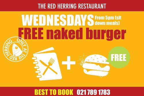 The Red Herring Wednesday winter specials
