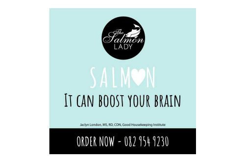 The Salmon Lady Facebook It Can Boost Your Brain ad