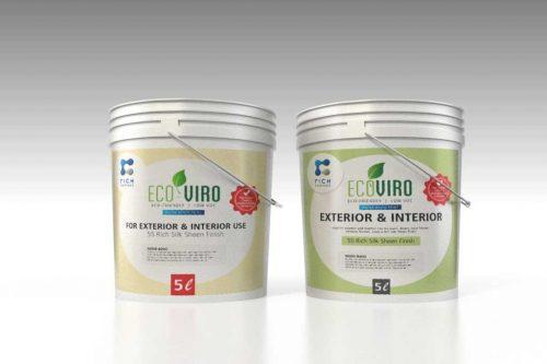 Eco Viro paint lables